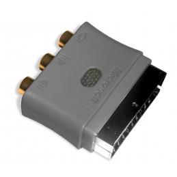 AV SCART adapteris